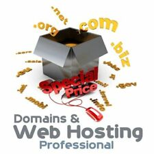 Webhosting Komplettpaket incl Domain, Sitebuilder, unbegrenzt Webspace & Traffic