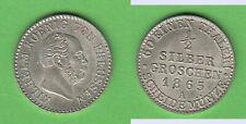 TOP 1/2 Silbergroschen 1865 A Preußen Wilh.I. stampsdealer