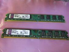 Kingston 4 gb (2X2gb) DDR2 PC2-6400 240 pins KVR800D2N6/2G for Desktop