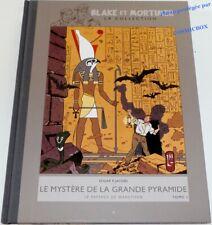 BLAKE et MORTIMER tirage le MYSTERE de la GRANDE PYRAMIDE tom 1 PAPYRUS MANETHON
