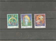3 used stamps commermorate Christmas,2000 year issue