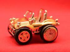 Tavolino/Buggy-Uhr/Deko/ Gold-Silber/ Geschenk/ Voll Funktionsfähig/ Quarz/ OVP