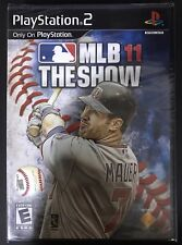 MLB 11 The Show Sony PlayStation 2 PS2 NEW Video Games Joe Mauer baseball OEM