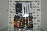 Cuisinart Chef's Classic 5 Piece Grill Set BBQ Tools NEW NEVER OPENED