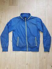 Waterproof Jacket Rain Coat Mens Ladies Adults Womens Unisex Blue Size L