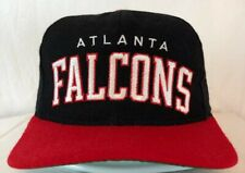 Vintage ATLANTA FALCONS SNAPBACK STARTER HAT script sports 90s