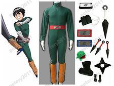 Naruto Shippuuden Rock Lee Children Cosplay Costume Set