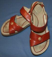 Dansko Rust Sandals Sz 39 8.5 9 Strappy Comfort