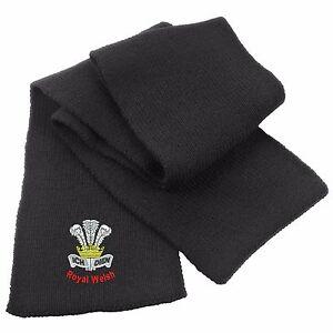 Royal Welsh Heavy Knit Scarf