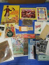 Paper Collectible And Vintage Book Lot