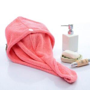 NEW Quick Dry Shower Microfiber Cap Soft Large Hat Women Towel Bathroom Product
