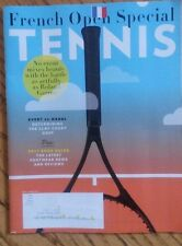 NEW TENNIS MAGAZINE June 2017 FRENCH OPEN SPECIAL Evert vs Nadal LATEST FOOTWEAR