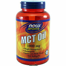 NOW MCT Oil 1000 mg 150 Softgels, Weight Management, Spares Lean Body Tissue