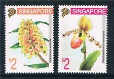 Singapore 1994 Singapore 95 Orchids SG 755/6 MNH