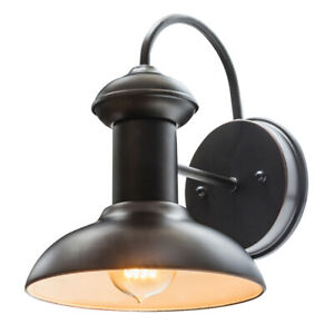 Globe Electric Co. 40190 Martes 1-Light Indoor/Outdoor Wall Sconce Oil Rubbed