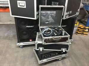 Peavey MAX450 & 115 BVX BW  & 410 TVX 4 Ohm Bass Amp Komplett