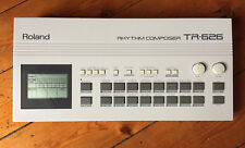 Roland TR-626 Rhythm compositeur Drum Machine + Manuel D'Origine + Opération graphique