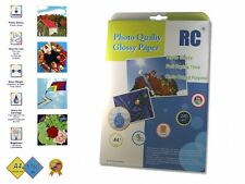 50x DIN A4 Glossy Photoprint Paper - Papier für Tintendrucker - Fotopapier - Neu