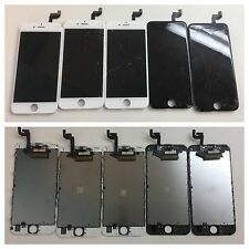 LOT 5 GOOD Screen LCD & Digitizer Cracked Glass iPhone 6S Plus OEM BLACK / WHITE