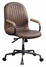 ACME Furniture Acis Executive Office Chair, Vintage Chocolate Top Grain Leather
