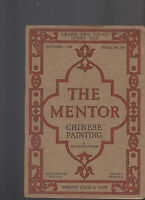 Mentor Magazine December 2 1918 #168 Chinese Painting