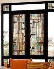 BEAUTIFUL Decorative Window Film City Lights  Modern Glass privacy Glass cover