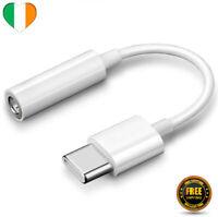 USB C Tipo A Aux 3.5mm Adattatore Cuffie Cavo Jack per Telefono Music Auricolari