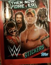 WWE THEN NOW FOREVER X5O LOOSE STICKERS