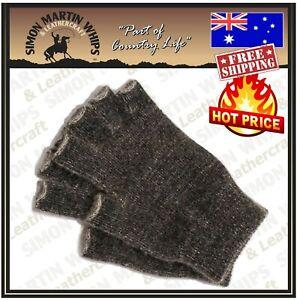 Possum Fur Merino Wool Fingerless Gloves Knitwear Made In New Zealand