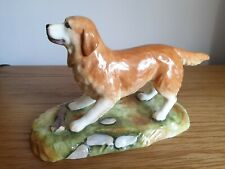 More details for gorgeous royale stratford large handpainted golden retriever dog figurine in vgc