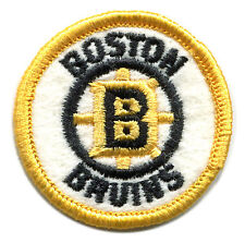 "1970'S BOSTON BRUINS NHL HOCKEY VINTAGE 2"" ROUND TEAM PATCH"