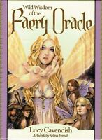 Wild Wisdom of the Faery Oracle Cards by Lucy Cavendish New & Sealed