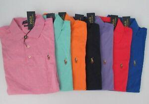 NWT Ralph Lauren Men's Classic Fit SS Interlock Knit Polo Shirt Sz M 2XL NEW $85