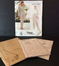 Vogue Paris Sewing Pattern Emanuel Ungaro 1564 8 10 12 Jacket Pant FF Uncut