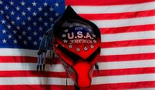 predator motorcycle helmet fiber optic dreadlocks american freedom helmet