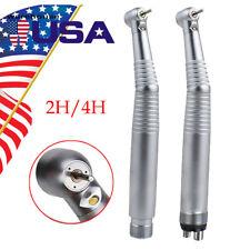 24 Hole Dental Led Air Turbine E Generator High Speed Handpiece 3 Way Spray Us