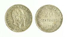 pcc1816_10) Regno Vittorio Emanuele II  20 centesimi 1863 Mi