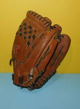 "Rawlings RPT1 13.5"" Softball Fast Pitch Leather Baseball Glove Mitt"