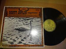 SCOTT JOPLIN-Ragtime Biograph – BLP-1010Q LP 1972, US