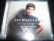 Jai Waetford Get To Know You CD EP - Like New