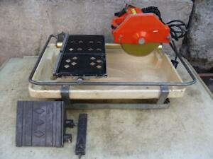 MK DIAMOND MK-660 3/4 HP, 7 WET CUTTING TILE SAW + ACCESSORIES #2