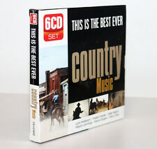 THIS IS THE BEST EVER COUNTRY MUSIC [BOX 6 CD'S] FUORI CATALOGO 5399875104926
