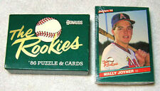 DON RUSS THE ROOKIES 86 PUZZLE AND CARDS