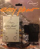 """Stereo Phono-Vorverstärker / Entzerrer """"Easy Phono"""" Analogis NEU Plattenspieler"""