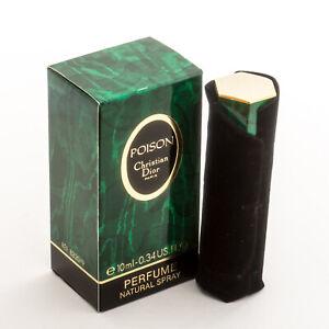Christian Dior Poison Perfume Extrait Parfum Vintage Original Old Address 30
