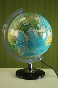 70er Vintage Globe Light Globus Lamp Tecnodidattica Advertising Globe 60er