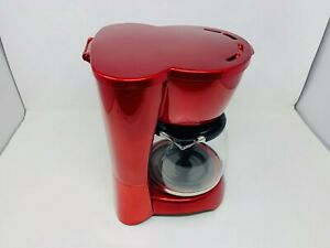 Continental Platinum Series 12 Cup Coffee Maker, Red
