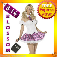 J33 Ladies Teachers Pet School Girl Fancy Dress Hens Night Party Costume Outfit