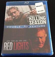 RED LIGHTS & KILLING SEASON Blu-Ray Double Feature Robert De Niro, John Travolta