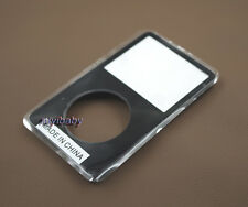 black plastic front faceplate housing case cover for ipod 5th video 30gb 80gb